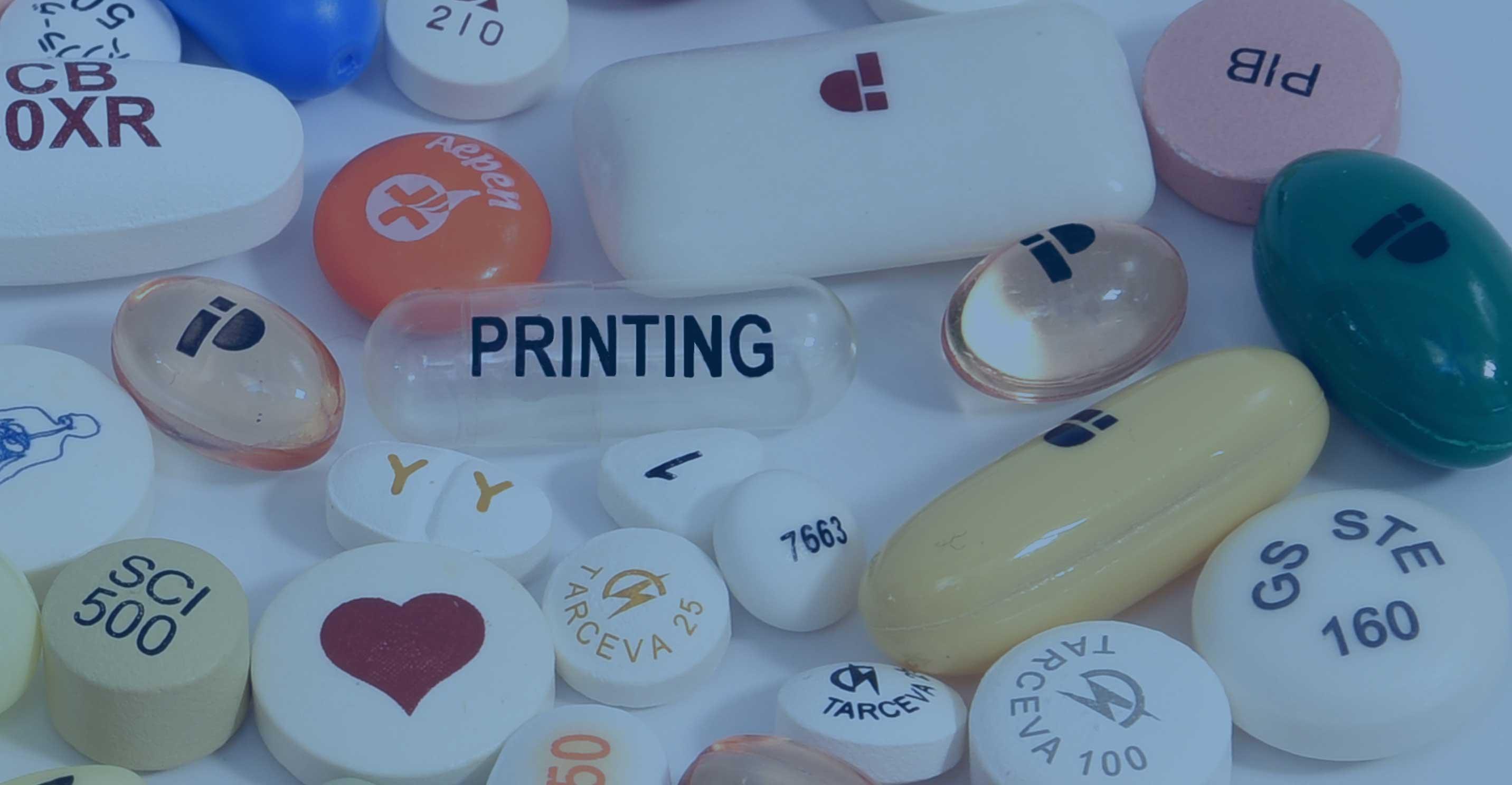 Pharmaceutical pad printing