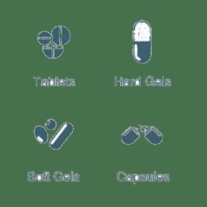 Pharmaceutical tablet printing